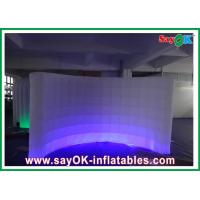 Wholesale Blow-up Oxford Cloth Inflatable Wall With Led Lighting For Exhibition / Event from china suppliers