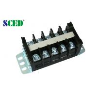 Wholesale 600V High Current Terminal Block 14.00mm 40A , Brass Screw Clamp Terminal Connector Block from china suppliers