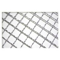Wholesale Hot-Dipped Galvanized Stainless Steel Single / Double Crimped Wire Mesh For Foodstuff from china suppliers
