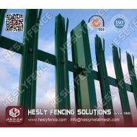 Wholesale PVC coated Steel Palisade Fencing from china suppliers