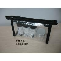 Wholesale Easy Handle Clear Toiletry Travel Bags / Small Cosmetic Pouch from china suppliers