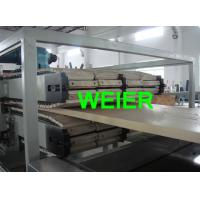 Wholesale high pressional WPC Extrusion Line of WPC door board manufacture with CE from china suppliers