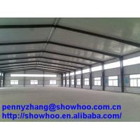 Wholesale Q235 Or Q345 Construction Design steel structure workshop from china suppliers