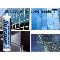 Wholesale Clear / White / Black / Grey Structural Silicon Sealant , Spray Sealant Heat Resistant from china suppliers