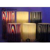 Wholesale Multi Color Real Wax Flameless Candles Set Of 2 For Home Decoration from china suppliers