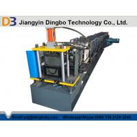 Wholesale 1000mm Coil Sheet Rain Gutter Making Machine With Panasonic / Siemens PLC Control System from china suppliers