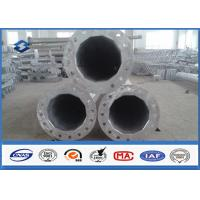 Wholesale Single Circuit 69KV Power Steel Tubular Pole with Hot dip Galvanization from china suppliers