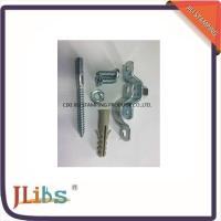 Customized Galvanized Steel Industrial Pipe Clamps With Plastic Anchor