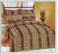 Wholesale Reactive Printed Cotton Bedding Set 005 from china suppliers