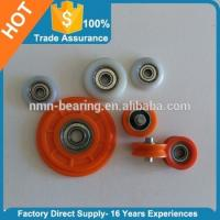 Carbon steel bearing with plastic covered pulley 604ZZ 605ZZ 606ZZ 608ZZ 625ZZ 626ZZ 695ZZ 696ZZ