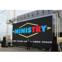 Wholesale 6.25Mm Full Color LED Backdrop Screen For Business , CE led panels for stage from china suppliers