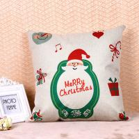 Buy cheap Printed Pillow Cushion Covers , Christmas Series Decorative Sofa Pillows from wholesalers