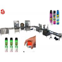 Wholesale Precision Automatic Aerosol Filling Machine for Mosquito Aerosol Can 800-1100cans/hour from china suppliers