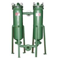 Wholesale Industrial Bags Duplex Pressure Filters Pressure 0.4MPA Used Extile Chemicals , Edible oil from china suppliers