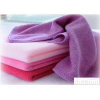 Quality 100% Polyester Towels Solid Color , Personalized Beach Towels For Adults  for sale