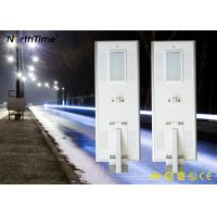 Wholesale 6500k-7000k  9000LM Solar Panel Street Lights with Lithium Battery 60AH from china suppliers