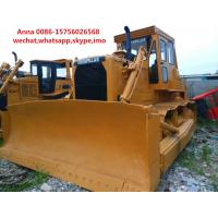 Wholesale 4.5m3 Blade Capacity Second Hand Bulldozer , Old Cat Bulldozers / D8K / D8N from china suppliers