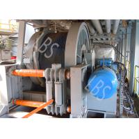 Quality High Working Loads Large Hydraulic Crane Winch Grey Color Good Reliable for sale