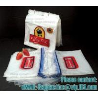 Wholesale Saddle zipper bags, Snack, Sandwich, XL Sandwich, Pint, Quart, Gallon sizes, minigrip from china suppliers