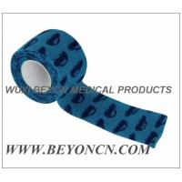 Wholesale Car Prints Self Adhesive Printed Bandages Athletic Tape For Splint Dressing Fixation from china suppliers