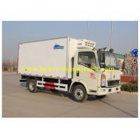 Wholesale Sinotruk small Box Van Truck 4X2 10 tons 120HP 2800mm Wheel base from china suppliers