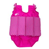 Wholesale Girls PINK Swim Training Floatsuit Swim Aid printed with Dots from china suppliers