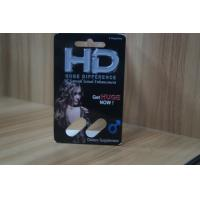 Wholesale Recycled Blister Pack Packaging For HD Male Sexual Enhancement Capsule from china suppliers