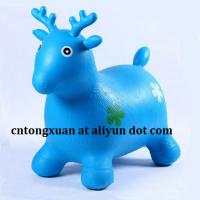Wholesale PVC Inflatable Animal Toys for Kids/Bouncy Animal/Skippy Toy from china suppliers