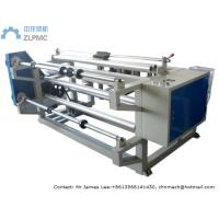 China Simple Plastic Film Slitting Machine Double Shafts Rewinder Rollers JY Series on sale