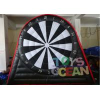 Wholesale 6 X 5m Double Side Inflatable Soccer Dart With Velcro Ball 0.55mm PVC Tarpaulin from china suppliers