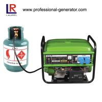 China 6.0 kw Natural Gas Electricity Generator LPG Transistorized Magneto Ignition on sale