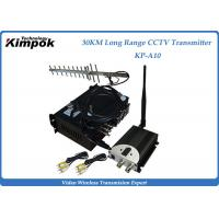 Wholesale 10~30KM Long Range Video Transmitter 1.2Ghz Wireless Image Sender 4 Channels from china suppliers