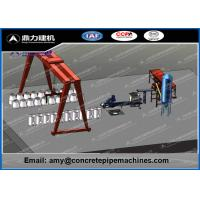 Wholesale Dingli PLC Control Concrete Pipe Making Machine High Mechanization from china suppliers