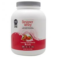Wholesale Designer Whey Protein Powder Luscious Strawberry  4 lbs from china suppliers