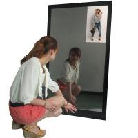 "Wholesale Human Induction Table Stand Mirror LCD Display For Cosmetic Shelf 15.6"" from china suppliers"