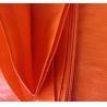 Buy cheap Double orange color&100% new material 140grams polyethylene tarps/tarpaulin fabric sell to Somalia from wholesalers