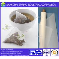 Wholesale Empty food grade biodegradable pyramid tea bags for sale/filter bags from china suppliers