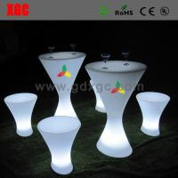 Wholesale Glowing bar stool furniture GF210 light furniture plastic Led furniture bar Chair Bar Chair from china suppliers