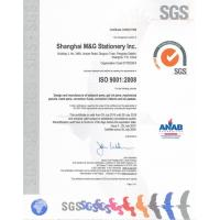 Shanghai M&G Stationery Inc. Certifications