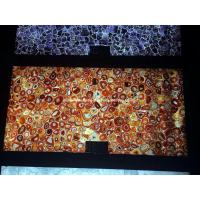 Wholesale Backlit Red Agate Semiprecious Stone Slab Panel from china suppliers