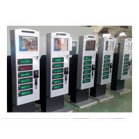 Wholesale Free Standing Cell Phone Charging Kiosk Lockers with Hotspot Wifi Network Advertisement Function from china suppliers