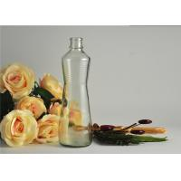 Wholesale Clear Glass Wine Bottles 489Ml / Glass Whisky Bottles Dectaner Refillable from china suppliers