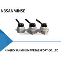 Wholesale G 1/4 Thread Manual Pneumatic Solenoid Valve , NBSANMINSE K34R6 Hand Switching Valve from china suppliers