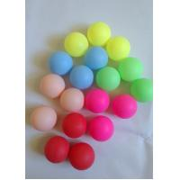Wholesale Colored Ping Pong Balls 40mm Celluloid , Standard Ping Pong Set For Children Fun from china suppliers