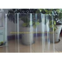 Wholesale FRP Gel Coat  Transparent Corrugated Fiberglass Panels 2mm Thickness from china suppliers
