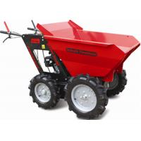 Wholesale Stepless Speed Change Transmission 4 Wheel Wheelbarrow for Engineering Construction 300kgs from china suppliers