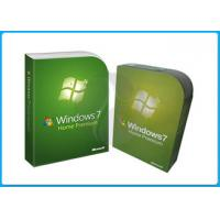 Quality 32bit x 64 bit genuine windows 7 home premium retail box original Fpp Keys for sale