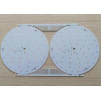 Wholesale HASL LF Aluminum Base LED Light PCB Board 1 Layers White Soldmask from china suppliers