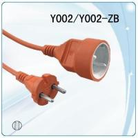 Quality PVC Jacket and Copper Conductor Material Germany power cable with vertical plug socket for sale