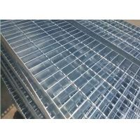 Wholesale Plain Type Metal Walkway Grating , 25 X 5 / 30 X 3 Galvanized Floor Grating from china suppliers
